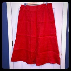 Pretty Talbots Linen Skirt